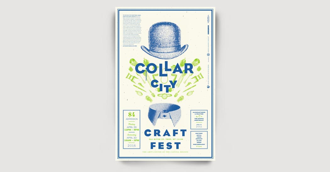 Collar City Craft Fest Poster