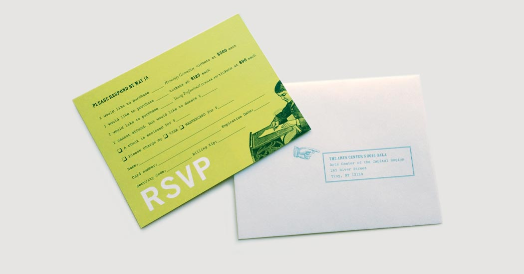 RSVP and Envelope
