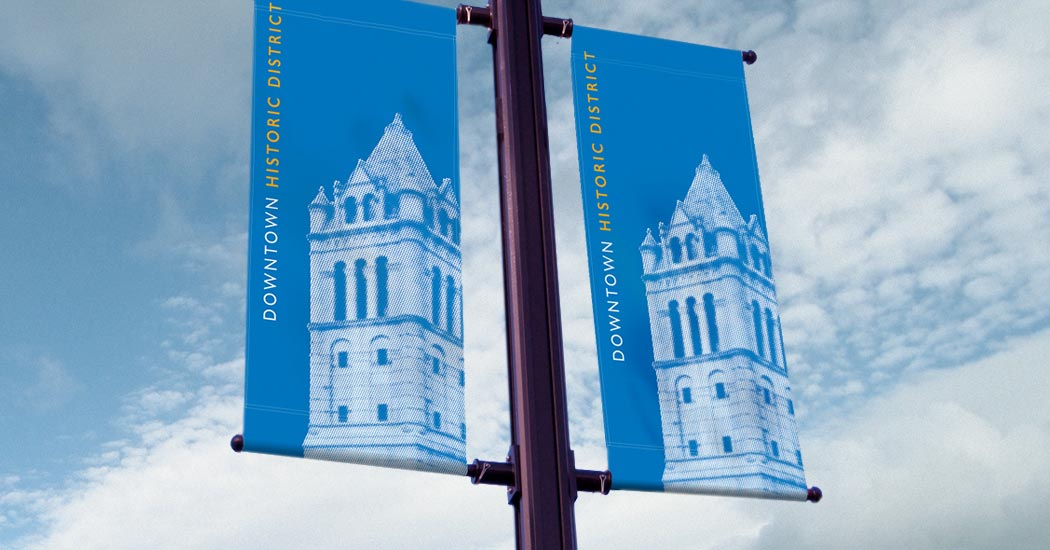 Cohoes Street Lamp Banner