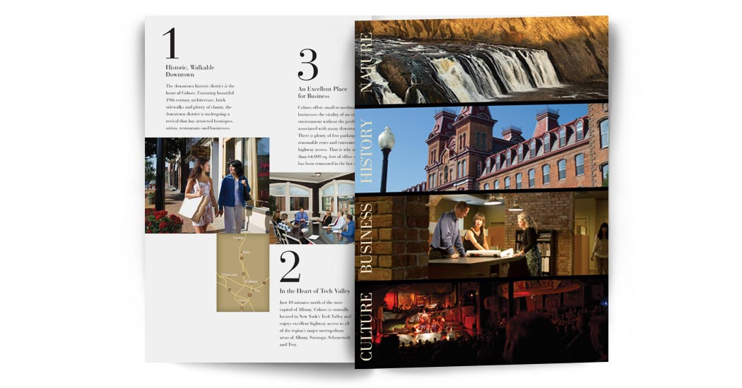 Cohoes brochure inside