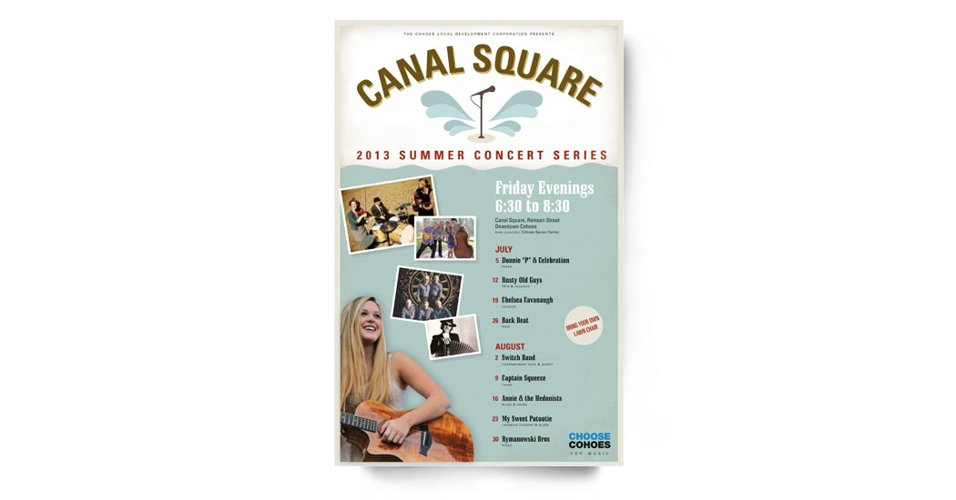 Canal Square Poster