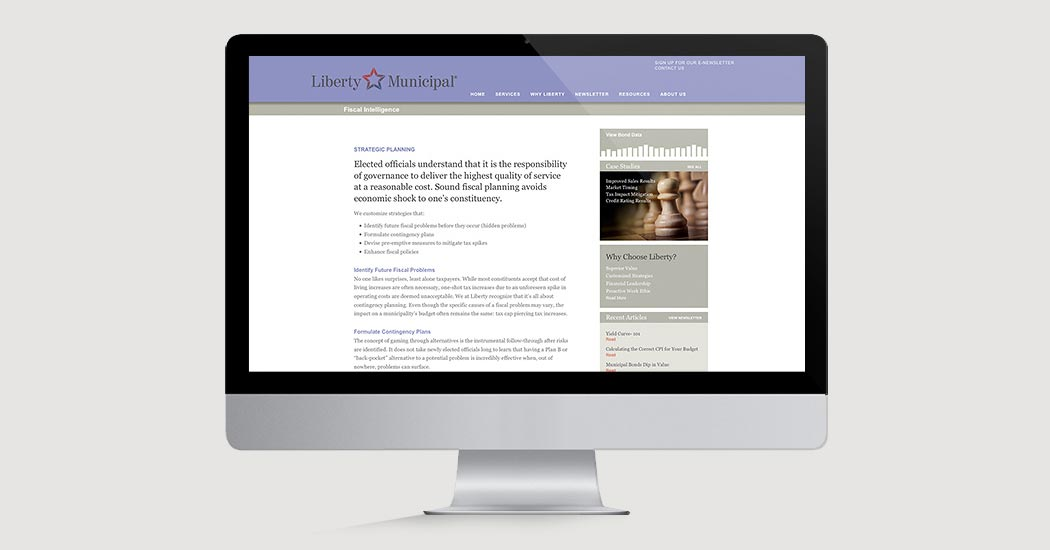 Liberty Municipal Website