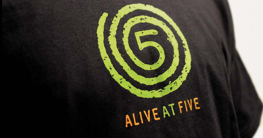 Alive at Five Logo