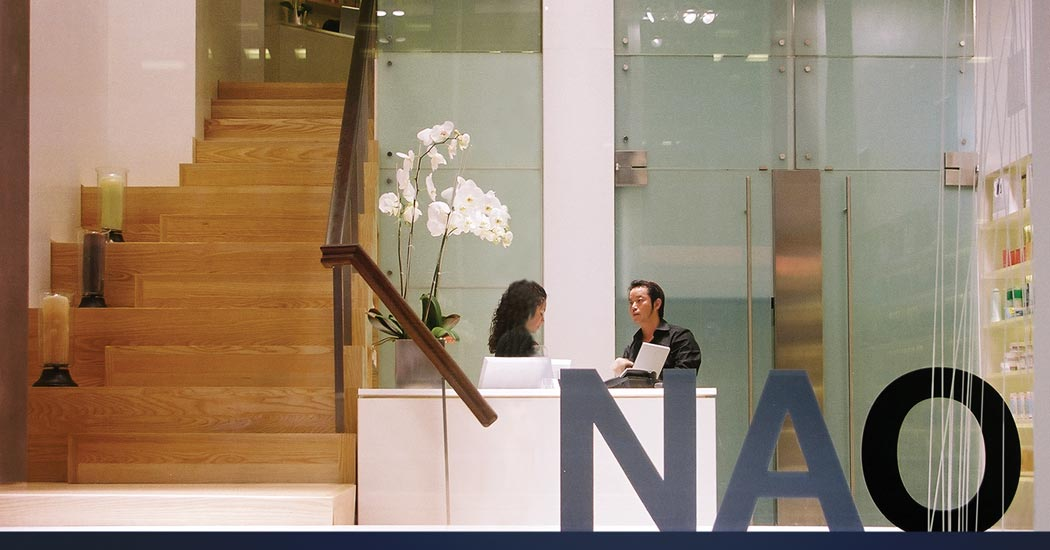 NAO Salon Window