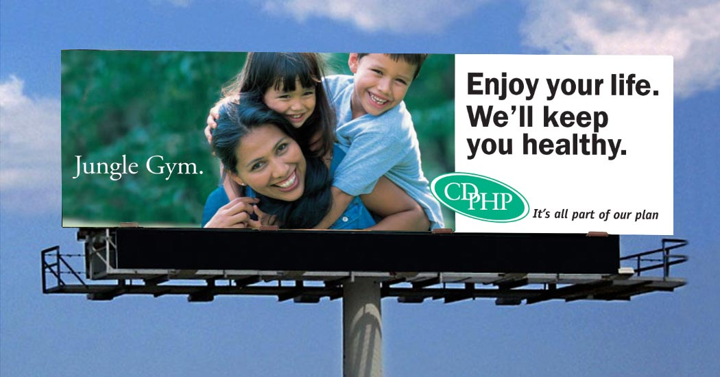 Capital District Physician's Health Plan Billboard Campaign
