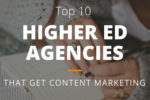Top 10 Higher Ed Agencies