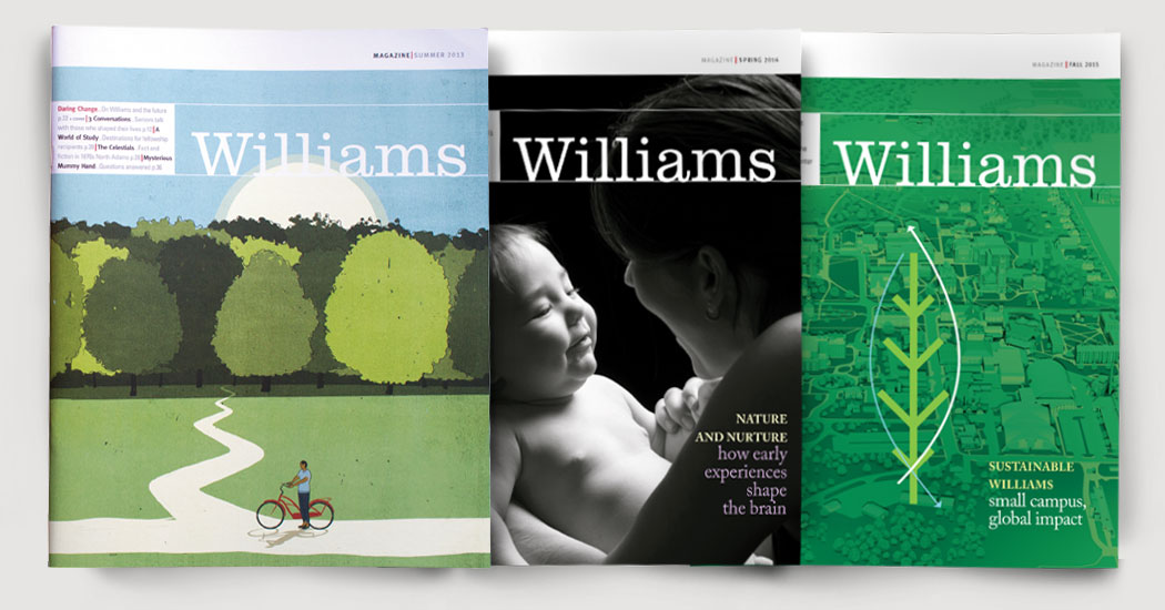 Wililams Alumni Magazine Covers
