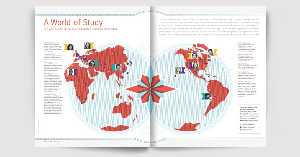 World of Study feature