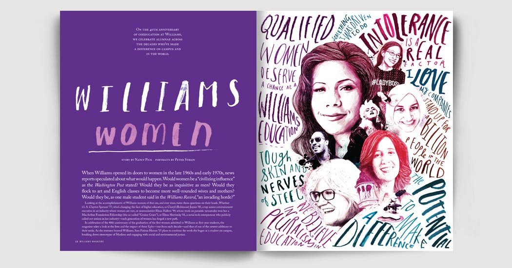 Williams Women feature
