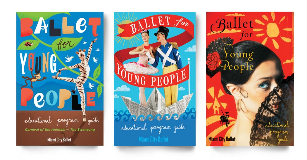 Ballet for Young People Booklets