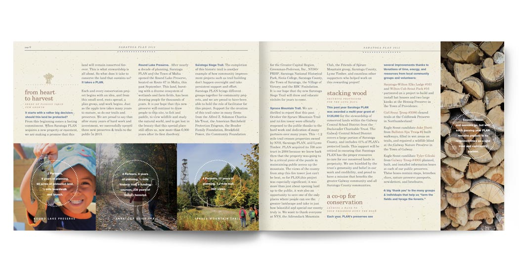Saratoga PLAN Annual Report