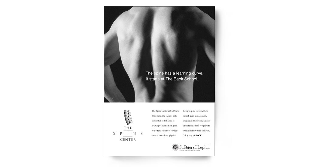 The Spine Center Ad Campaign 2 - Back School